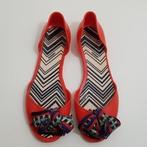 Missoni jelly sandals size 39/9